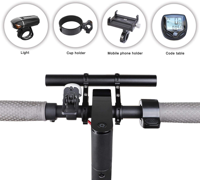 "8/"" Alloy Adjustable Kid Handle Grip Bar for M365//Ninebot ES1 ES2 ES3 ES4"