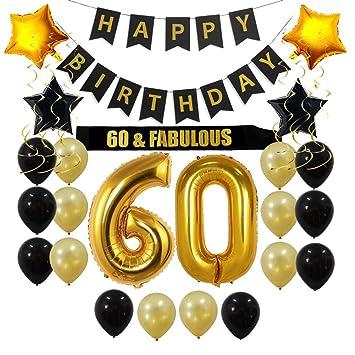 Amazon.com: Brillex - Adornos para fiestas de cumpleaños ...