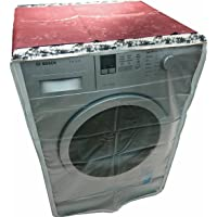 Classic Pe Retail Plastic Washing Machine Cover For 7Kg-8.5Kg Front Load Washing Machines (Multicolor)