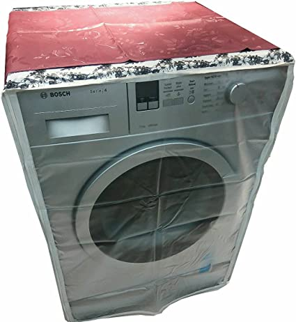 Classic Plastic Washing Machine Cover For 7Kg-8.5Kg Front Load Washing Machines (Multicolor)