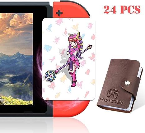 Tarjetas de Juego NFC Tag para la Leyenda de Zelda Breath of The Wild Switch/Wii U- 23 Tarjetas con Soporte: Amazon.es: Electrónica