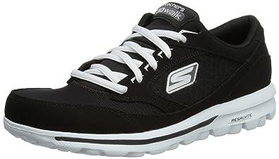 cheap for discount 3f79f 2b2f9 Skechers Performance Women s Go Walk Baby Walking Shoe,Black White,8.5 ...