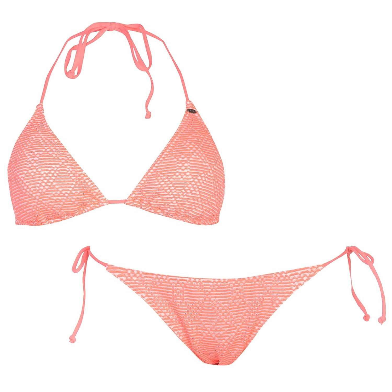 ONeill Damen Structure Triangel Bikini Set Neckholder Oberteil Bikinihose