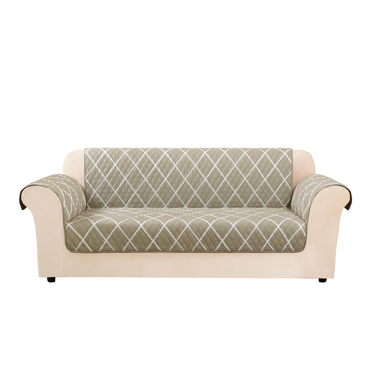 Amazon Sure Fit Furniture Flair Sofa Slipcover Lattice