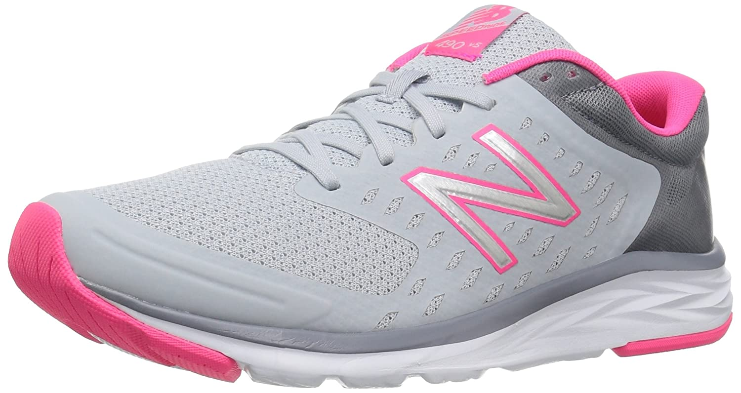New Balance Women's 490V5 Running Shoe B01NBA8JWL 10.5 B(M) US|Light Cyclone/Pink