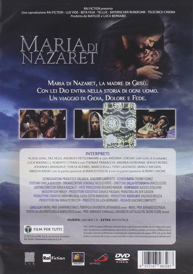 Amazon Com Maria Di Nazaret Italian Edition Roberto Citran Andrea Giordana Giacomo Campiotti Movies Tv