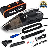 Deals on HUANZHAN Car Vacuum Cleaner,H-Zonealph DC 12V Car Vacuum