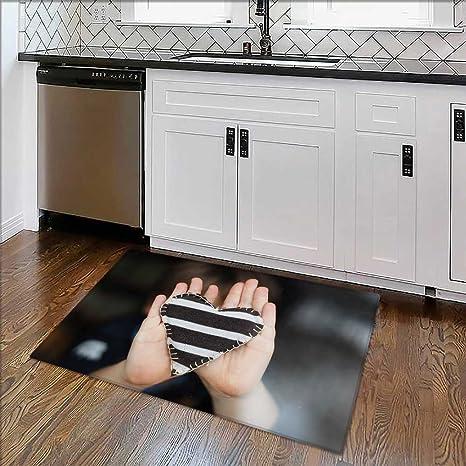 Amazon.com: Dual Surface Non Slip Rug Pad Homemade Heart for ...