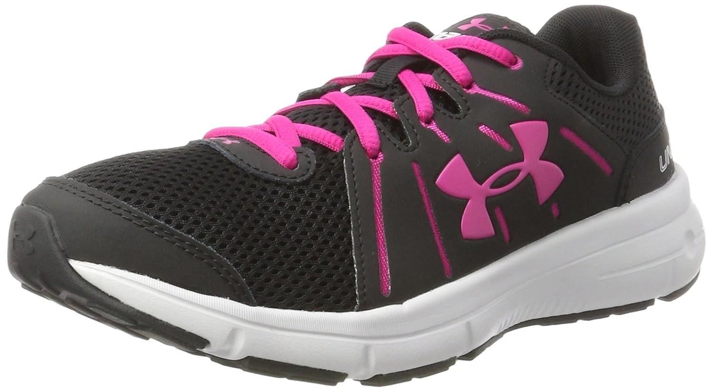 Under Armour Women's Dash 2 Running Shoe B01GPLJ2KQ 10.5 B(M) US Black/Glacier Gray/Tropic Pink