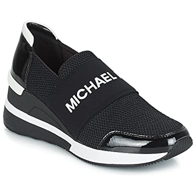 Michael Kors TG 38 Nuovo Chaussures Femme Baskets Basses