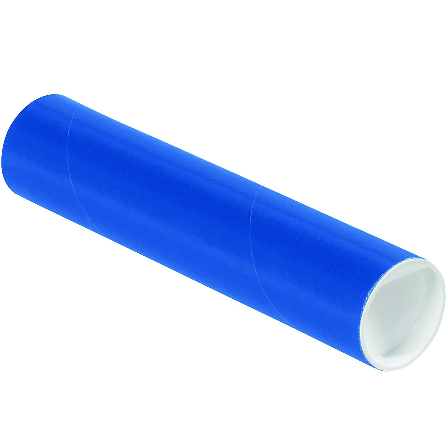 Ship Now Supply SNP2009B Mailing Tubes with Caps 2 x 9 Blue Pack of 50