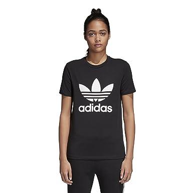 f22cd6461ef adidas Originals Women's Trefoil Tee at Amazon Women's Clothing store: