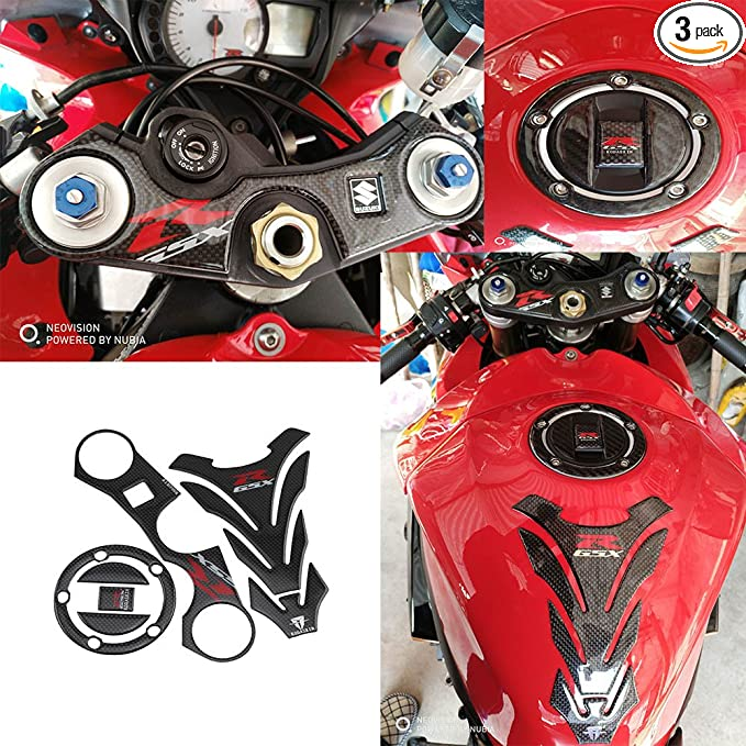 Parts Triple Tree Front End Upper Top Clamp Decal Stickers,Tank ...