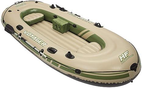 Bestway Voyager 500 Barca Hinchable para 3 persona, 2 remos