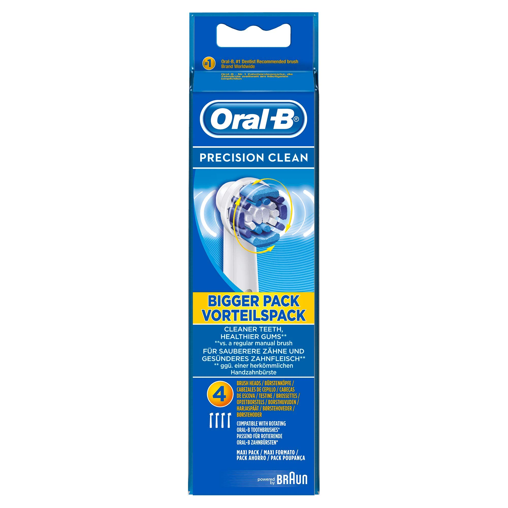 Oral-B Precision Clean Toothbrush Heads 4