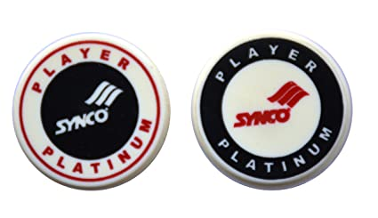Synco Carrom Player Series Platinum Striker (Black) - Combo Pack