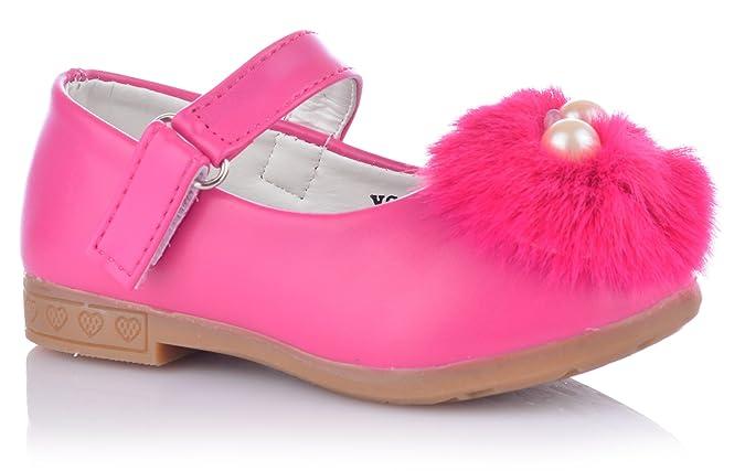 Unbekannt Süsse Mädchenschuhe mit Bommel  Amazon.de  Schuhe   Handtaschen 9d51b41621