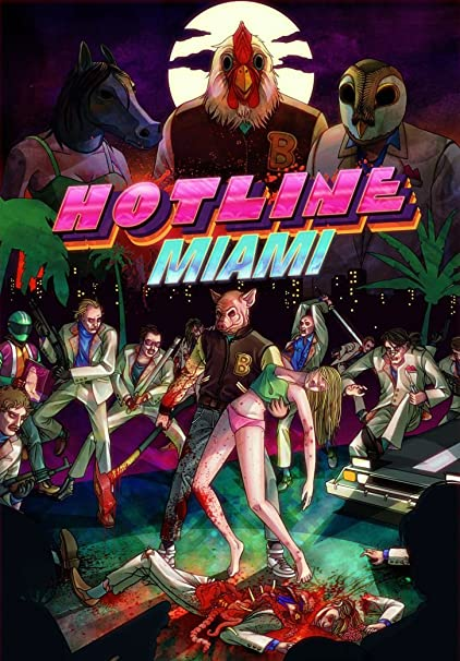 Amazoncom Xxw Artwork Hotline Miami Poster Jacketmassacre