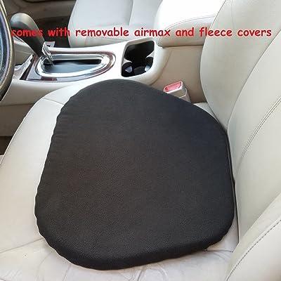 CONFORMAX New ERA All Season CAR-Truck Gel SEAT Cushion (L16 (16Lx18FWx12RW), with AIRMAX and Fleece Covers): Automotive