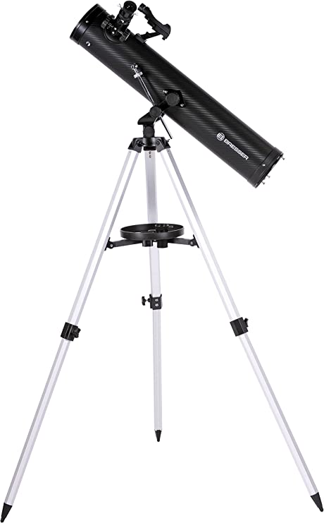Bresser Venus 76/700 AZ - Telescopio reflector con Adaptador de ...