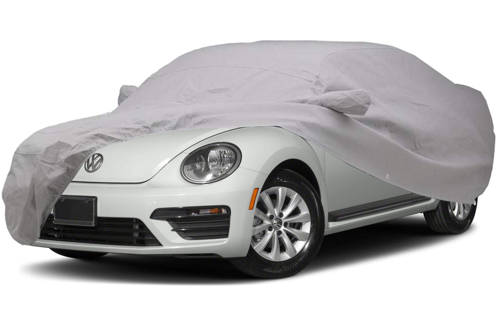 CarsCover Custom Fit 2011-2019 Volkswagen Beetle Car Cover for 5 Layer Ultrashield Waterproof VW Beetle