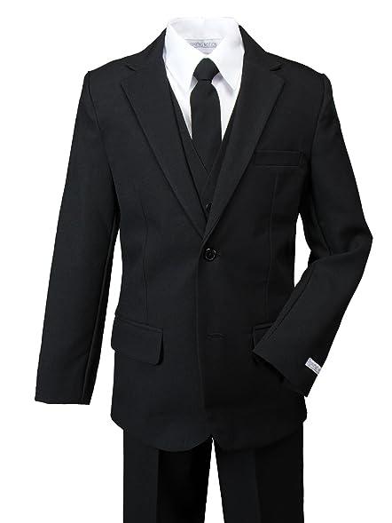Amazon.com: Spring Notion Big Boys' Modern Fit Dress Suit Set ...