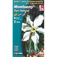 Montseny, mapa excursionista. Escala 1:25.000. Español, Català, English. Editorial Alpina.