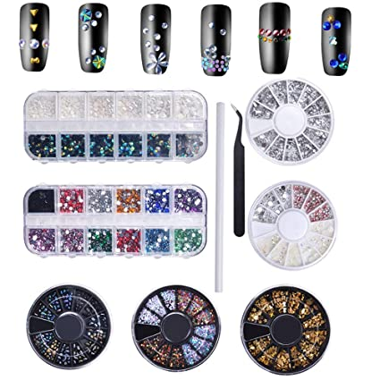 479737f8185a Biutee Brillantes Uñas Pedreria para Uñas Decoración Lápiz para Cristales