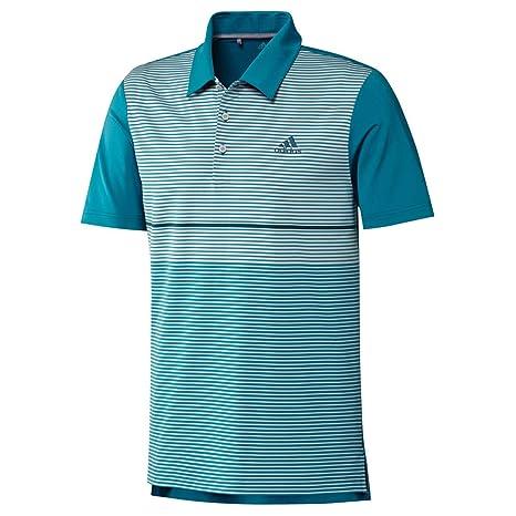 adidas Golf Mens Ultimate Color Block Polo Shirt