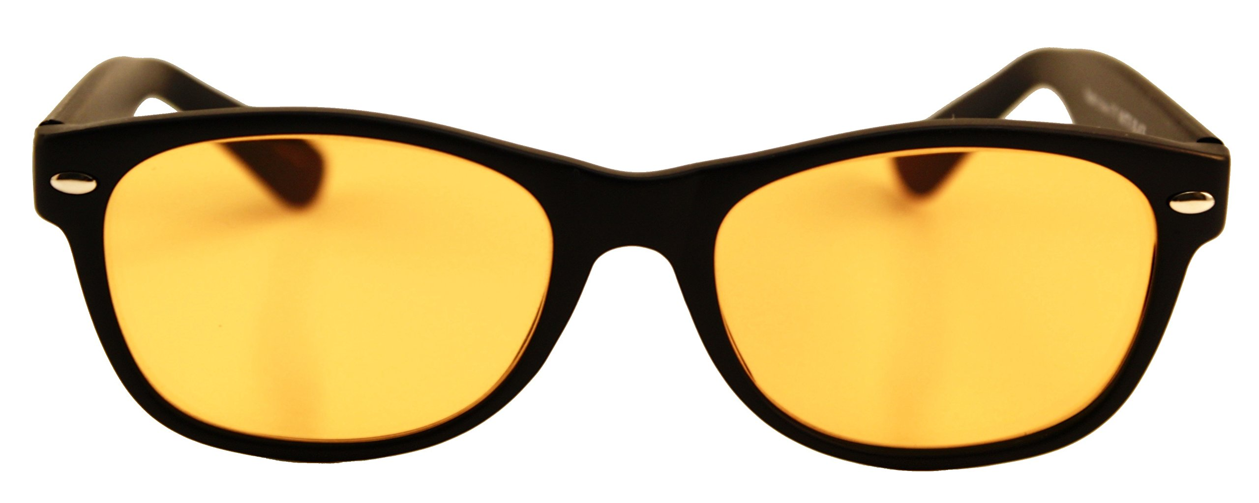 Computer Glasses with Melanin [Melatonin Production Factor (MPF) Rated]- Natural Eye Protection, Block/Filter Blue Light, Better Sleep, Better Health, Preserve Colors, Reduce Glare by MELAVISION (Image #1)