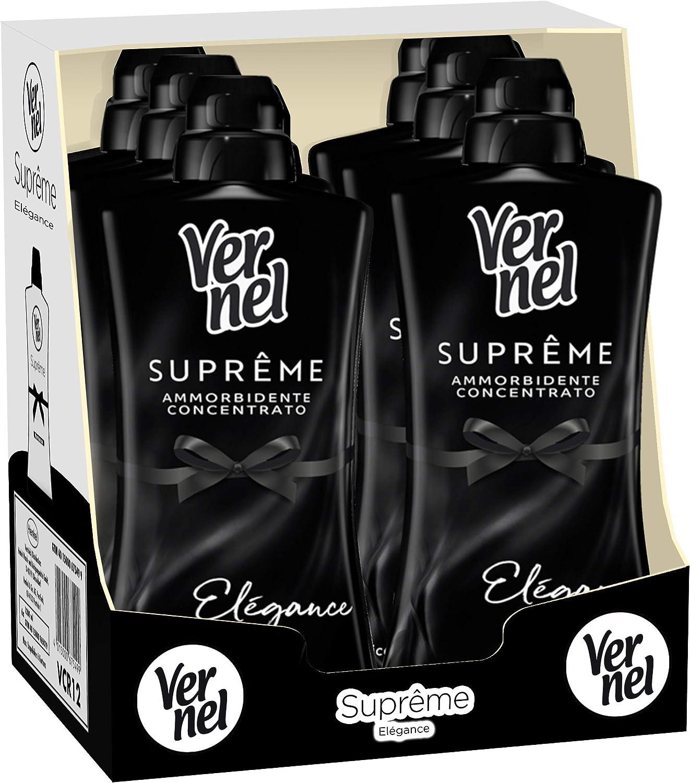 Henkel Supreme Noir Elegance - Pack de 6 botes de 1100 ml: Amazon ...