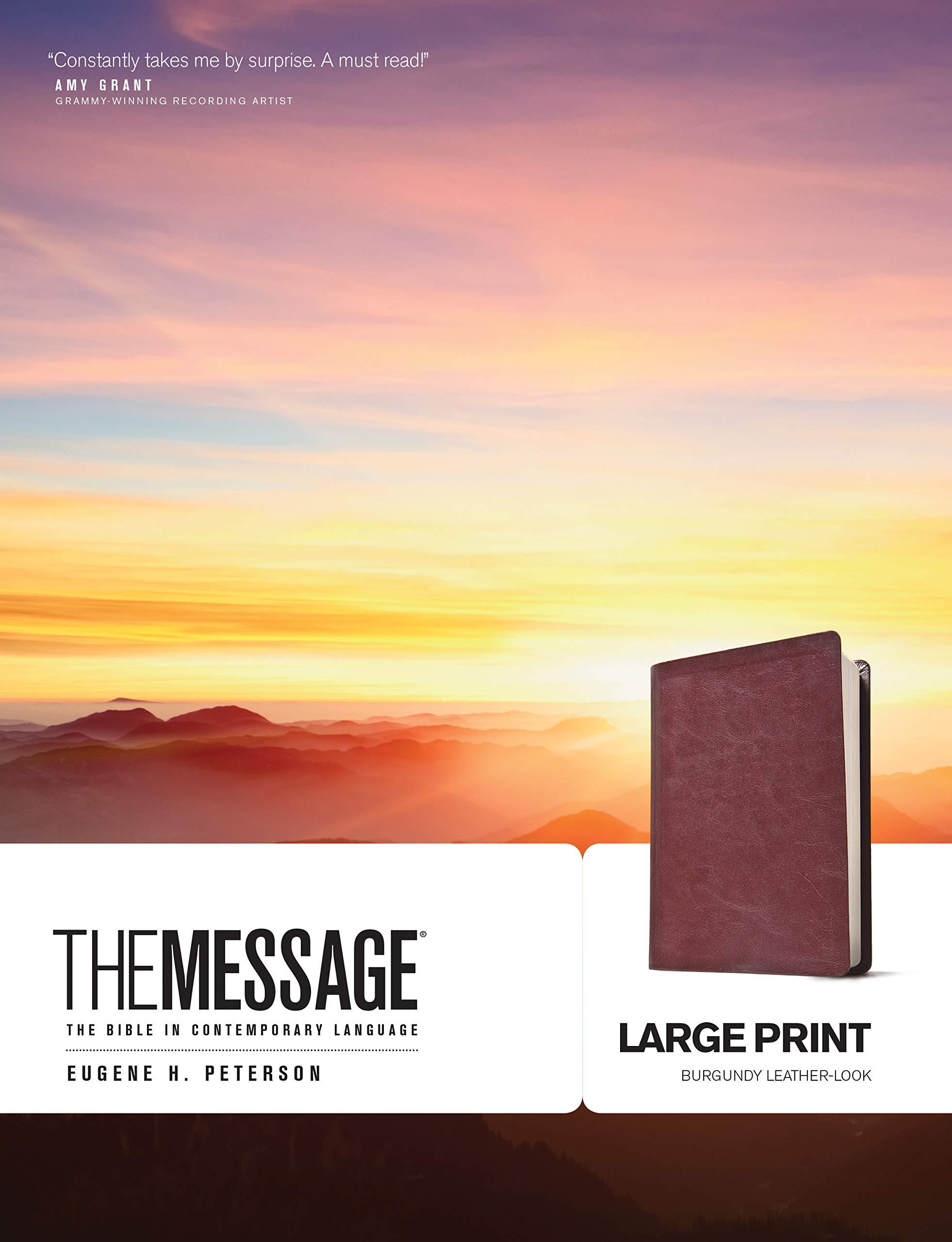 The Message Bible: Eugene H  Peterson: 9781576838464: Amazon com: Books