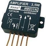 Module amplificateur Kemo (kit monté) 4 - 12 V/DC Puissance de sortie: 3,5 W 1 pc(s)