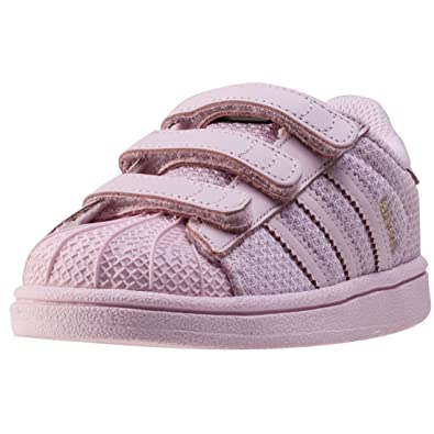 adidas Girls Originals Infant Girls Superstar Trainers in Pink - 5 Infant a32a3a78daae