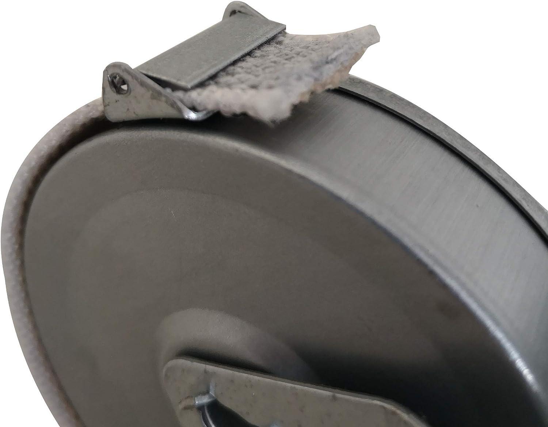 Enrollador para persianas 165 mm//6 m 3 unidades Rolling Shutter Tape Coiler Gurtwickler inkl Enrollador persiana Recogedor Persianas