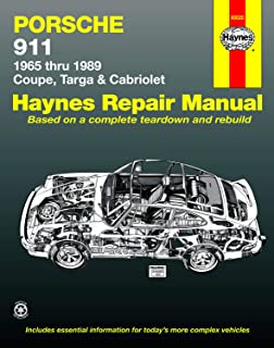 For Porsche 911 Coupe Targa Cabriolet 1984-1989 Service Repair Manual Bentley