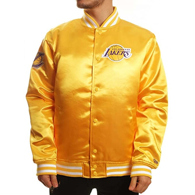 A NEW ERA Era Blouson Tip Off los Angeles Lakers Sateen ...