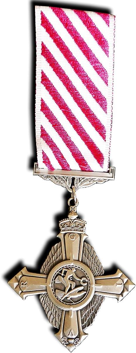 Goldbrothers13 Medalla Militar RAF Repro de la Fuerza Aérea (AFC) premiada a Las Fuerzas Armadas del Reino Unido: Amazon.es: Deportes y aire libre
