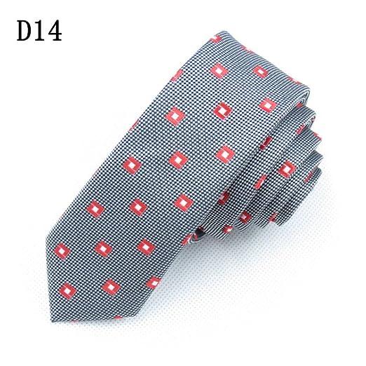 Corbata De Hombre Coreano Estrecho Corbata Delgada Corbata Grande ...