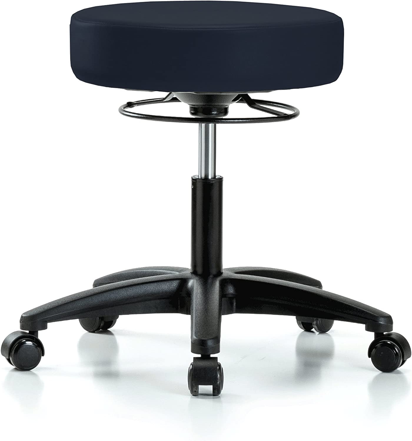 Perch 360 Degree Rolling Height Adjustable Massage Therapy Swivel Stool for Carpet or Linoleum Desk Height 300-Pound Weight Capacity 12 Year Warranty Imperial Fabric