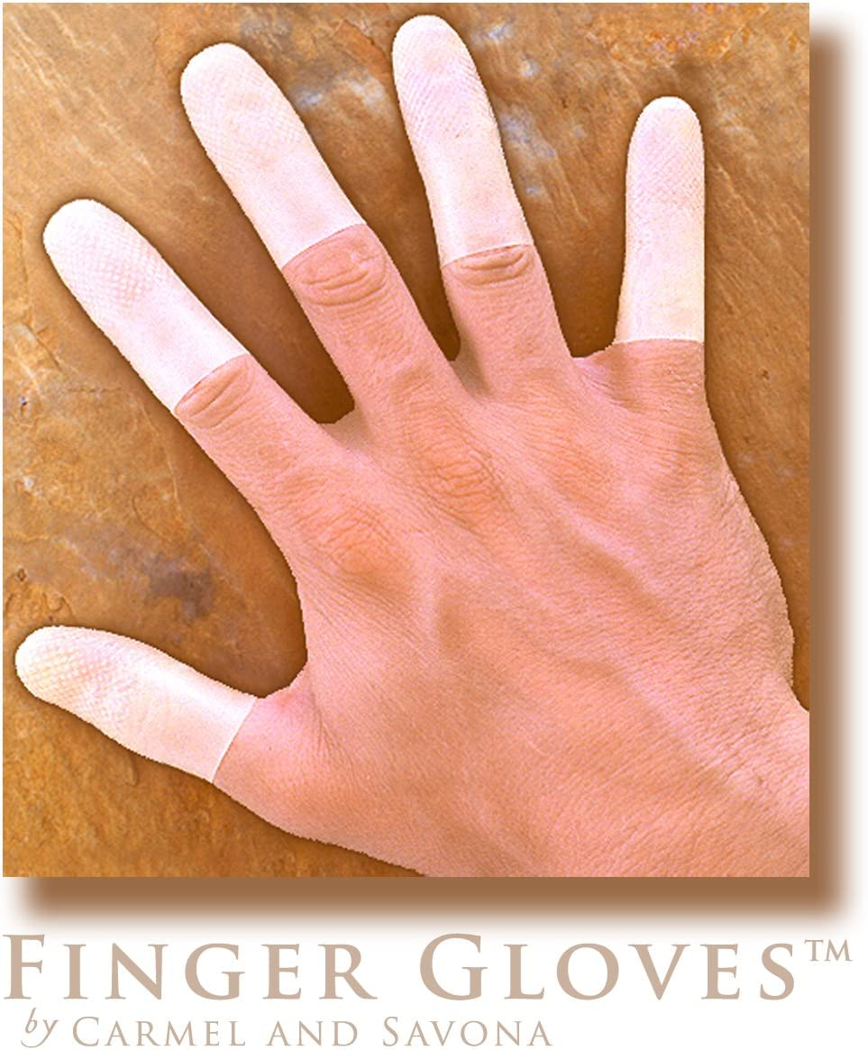 Reusable Rubber Finger Gloves(tm) for Durable and Versatile Finger Only Coverage