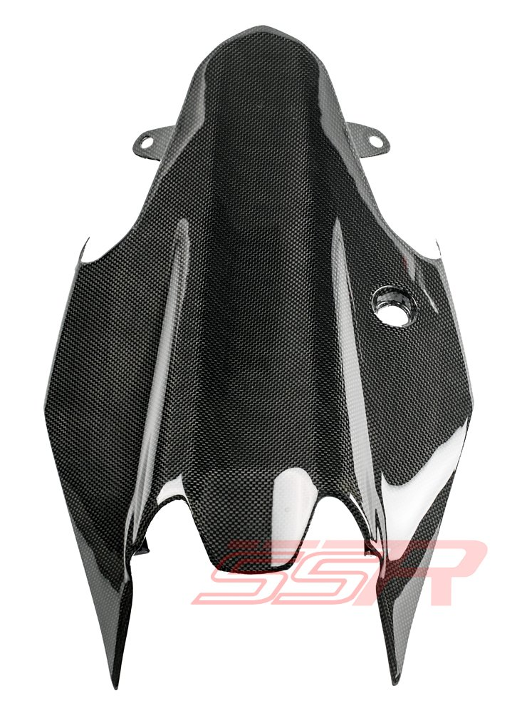 Ducati Monster 821 1200 S 1200S Carbon Fiber Under Tray Tail Rear Seat Cover Panel Fairing