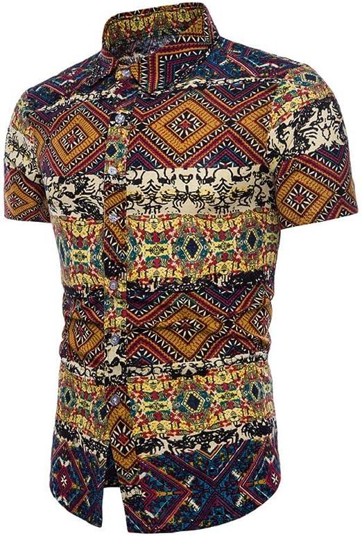 Camisas Hombre Flores 2020 Moda SHOBDW Playa de Verano Impresión ...