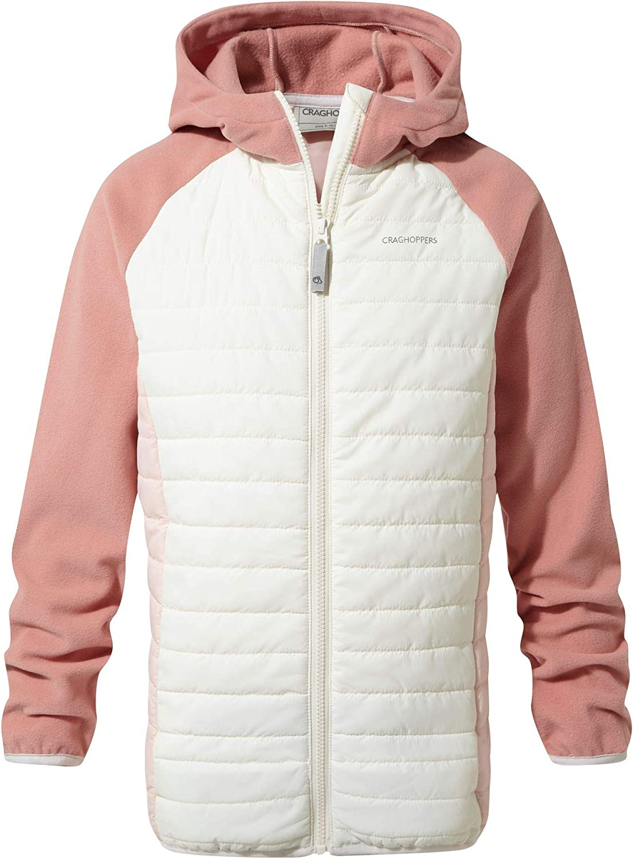Craghoppers Kids Girls Neopolitan Hybrid Jacket