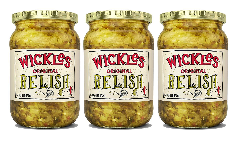 wickles Original Relish 16oz Jar (3 unidades): Amazon.com ...