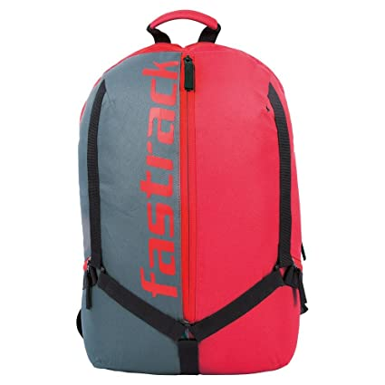 2a2fc962ff86 Fastrack 25.17 Ltrs Red School Backpack (AC029NRD01)  Amazon.in  Bags