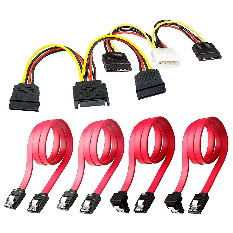 Aofocy - Cable de conexión de Disco Duro SSD/SATA III, 1 Cable ...