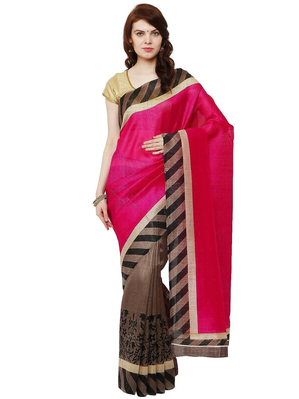 SUDARSHAN BHAGALPURI DESIGNER SAREE-Multicolor-MSD1-VO-Bhagalpuri Sudarshan Silks MSD14