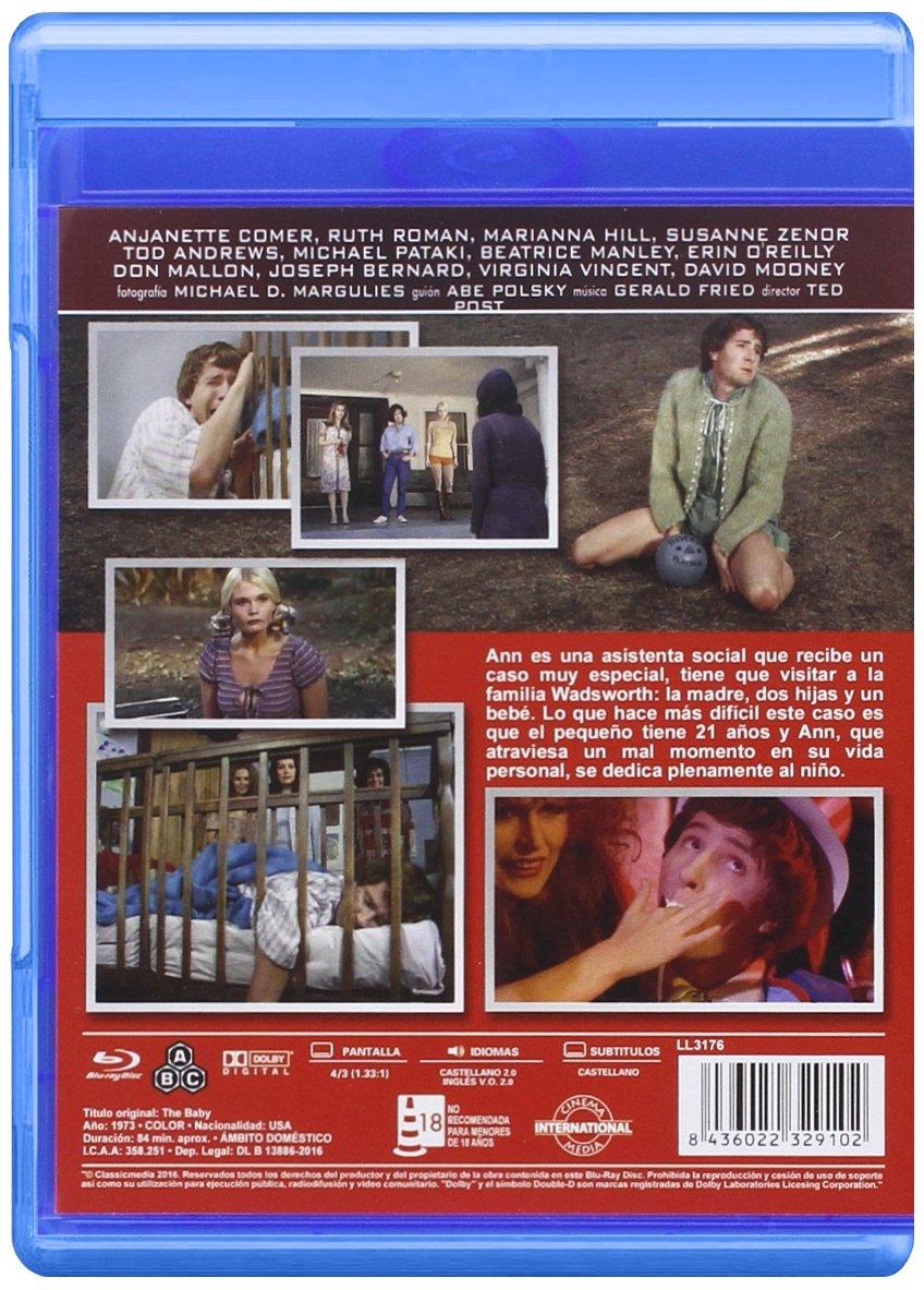 Jaula sin Techo (The Baby) 1973 [Blu-ray]: Amazon.es: Anjanette ...
