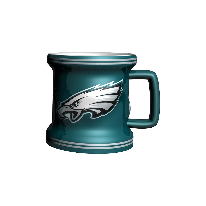 Boelter Brands NFL Mens NFL Sculpted Mini Mug 2 Ounce